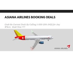 Asiana Airlines Reservations Deals