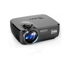 AUN AM01 Mini 1080P Projector Support 3D Demo Home Cinema