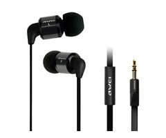 AWEI ES-600M Noise Isolating Hi-Definition Earphone For Cell Phone