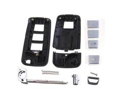 Folding Flip Remote Key Case Shell For HYUNDAI Elantra Sonata Genesis