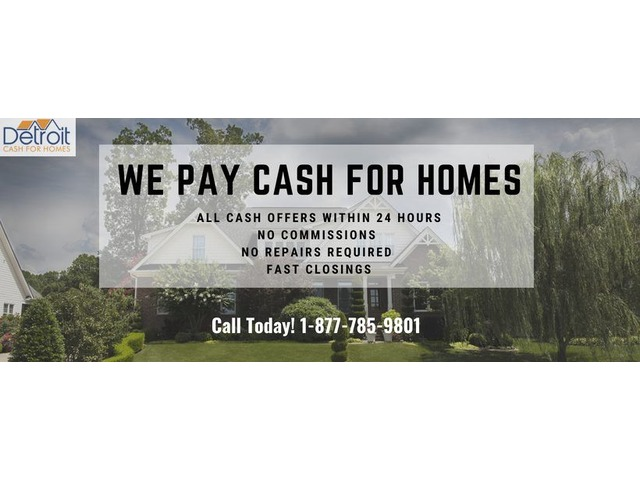 Cash Home Buyers in Detroit - Going for Assisted Living, Sell Home Fast | free-classifieds-usa.com
