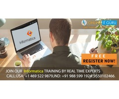 Informatica Online Training | Informatica ETL Certification | OnlineITGuru