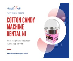 Cotton Candy Machine Rental NJ