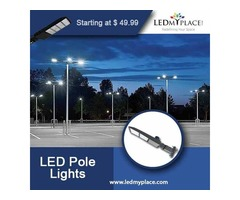 Buy Now LED Pole Lights For Outdoor Lighting