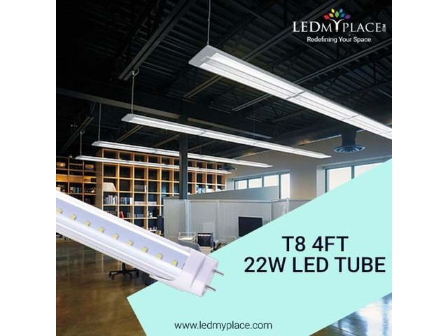Use T8 4ft 22W LED Tube for Maximum Brightness in Your Room | free-classifieds-usa.com
