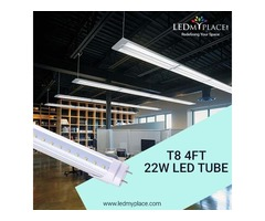 Use T8 4ft 22W LED Tube for Maximum Brightness in Your Room