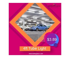 Install 4 ft LED Tubes at the Residential Places to Lighten the Place