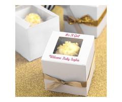 Get Disposible custom cupcake box