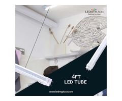 Make Offices A Better Place To Work By Installing 4ft LED Tube Light