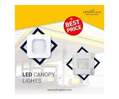 Attract more Drivers towards your Gas Stations by Installing LED Canopy Lights