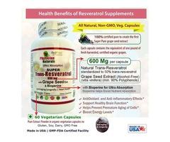 Super Resveratrol Antioxidant And Anti-aging Supplement