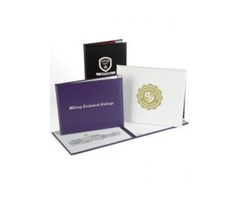 Buy Wholesale certificate covers, Certificate covers, diploma cases, leather certificate holders | D