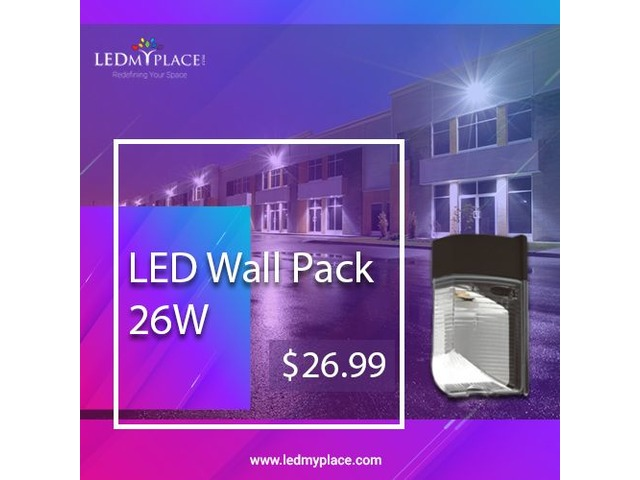 Switch to LED Wall Pack Lights to Make the Homes Beautiful | free-classifieds-usa.com