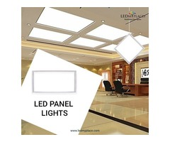 Install LED Panel Lights For Industrial & Commercial Uses
