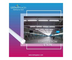 Install UL Listed Single Pin Clear T8 8ft LED Tubes