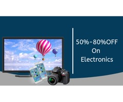 Buy electronic items such as mobiles, laptops, televisions