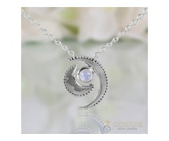 Moonstone Necklace - Wild Moon - GSJ