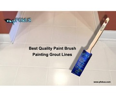 Paint Brush for Painting Grout line | pFOkUS