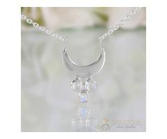 Moonstone Necklace - Moon Magick - GSJ