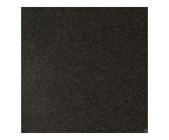Impala Black 12X12 Polished | Granite Tile Stacked Stone USA