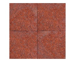 New Imperial Red 12X12 Polished | Granite tile Stacked Stone USA