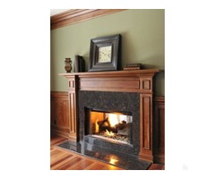 Tan Brown 18X18 Polished | Granite Tile Stacked Stone USA