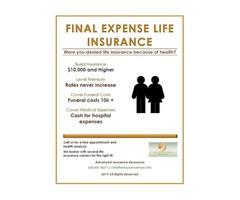 Final Expense Burial Life Insurance High Blood Pressure Diabetes