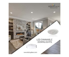 Install Energy-Efficient LED Dimmable Downlights At Low Ceilings