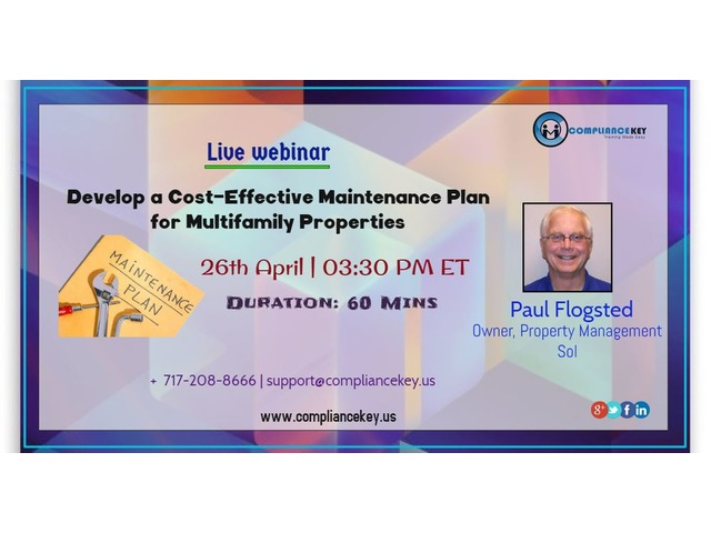 Develop a Cost-Effective Maintenance Plan for Multifamily Properties | free-classifieds-usa.com