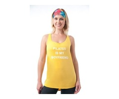 Pilates Tops for Women to Support during Yoga
