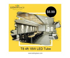 Switch to Medium sized 4 ft LED Tube to Make Home Beautiful