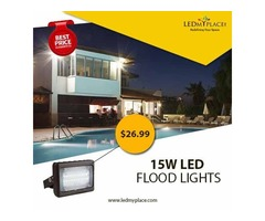 Install Outdoor LED Flood Lights To Make The Parks More Beautiful