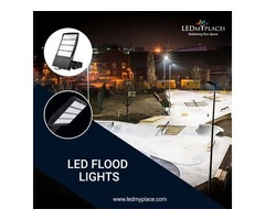 LED Flood Lights For Commercial And Outdoor Use