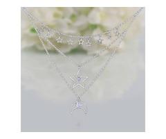 Moonstone Necklace - Sky Energy - GSJ