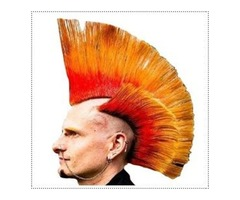 Punk Orange Hair Dye for Redhead Vibrant Orange Hair