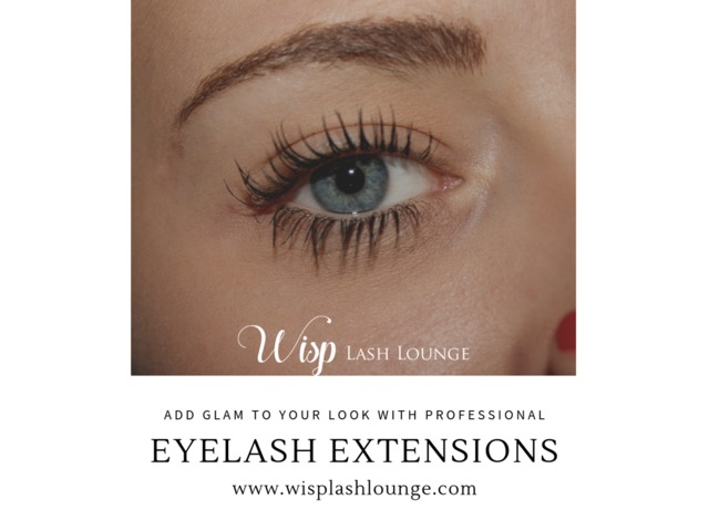 Glam your look with professional eyelash extensions and eyebrow shaping  At Wisp Lash Lounge | free-classifieds-usa.com