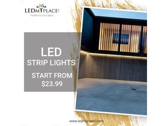 Install LED Strip Lights To Illuminate Your Home   free-classifieds-usa.com