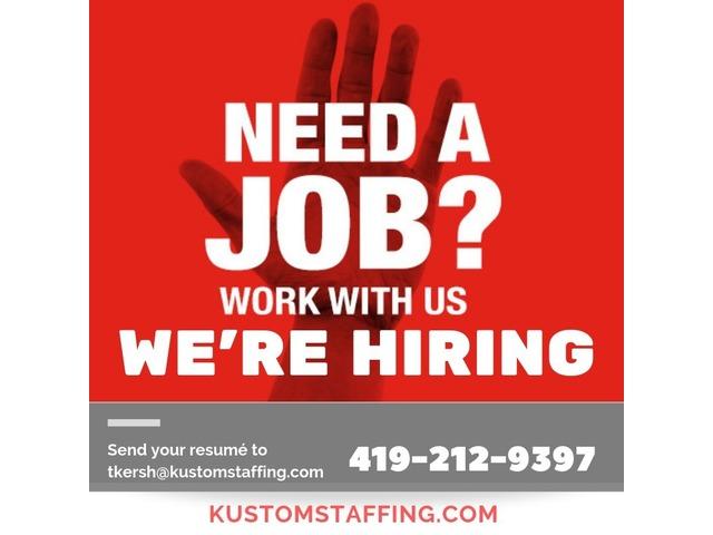 warehouse temp agencies in Defiance Ohio Kustom Staffing | free-classifieds-usa.com