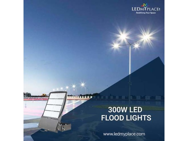 Ensure Smooth Parking By Installing 300W LED Flood Lights | free-classifieds-usa.com