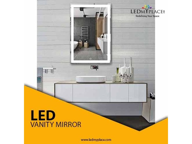 Look And Feel Good By Installing LED Vanity Mirror | free-classifieds-usa.com