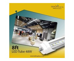 Install UL Listed Single Pin Clear T8 8ft LED Tubes to have Safer Lighting