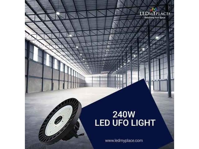 Use Premium LED Chips Designed UFO LED High Bay Lights For Warehouse | free-classifieds-usa.com