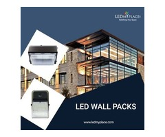 Install Commercial LED Wall Packs For Maximum Visibility