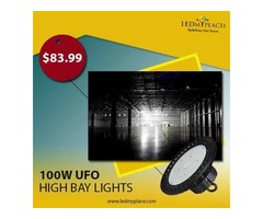 Purchase Now 100w High Bay LED UFO Lights For Warehouse