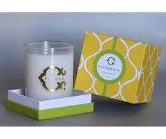 Get your Delicious Candle Boxes with windows
