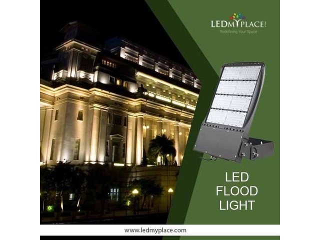 Install Outdoor LED Flood Lights To Illuminate Wider Places | free-classifieds-usa.com