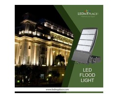 Install Outdoor LED Flood Lights To Illuminate Wider Places