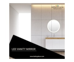 Install LED Vanity Mirror To Enhance Your Bathroom Space