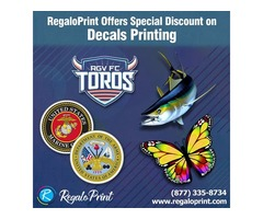 Brilliant Designs of Decals Printing Services| RegaloPrint