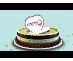 Give the best birthday surprise to your best friend with an edible photo cake from Icinginks
